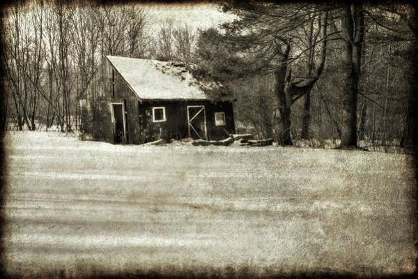 Winter Textures Poster