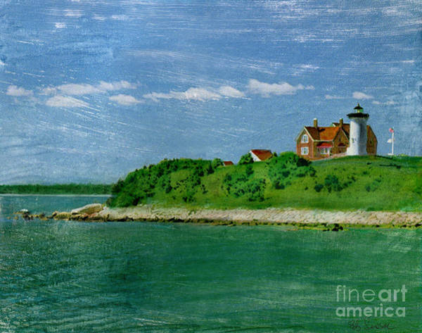 Woods Hole Lighthouse Poster