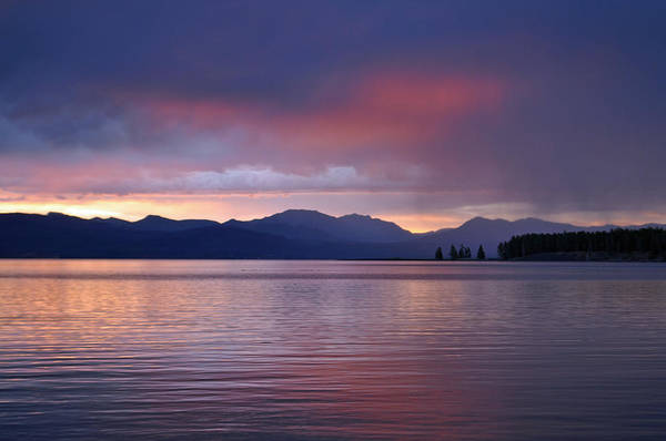 Yellowstone Lake Sunrise IIi Poster
