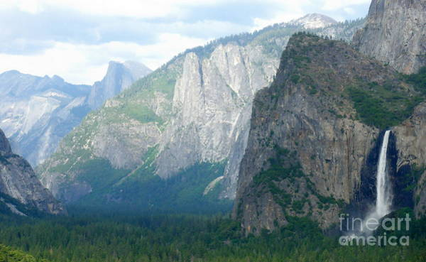 Yosemite Bridalveil Fall Poster