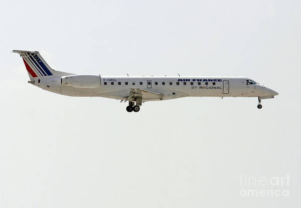Air France Regional Airlines Embraer Erj-145eu - F-grgl  Poster