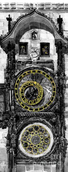 Bw Prague The Horologue At Oldtownhall Poster