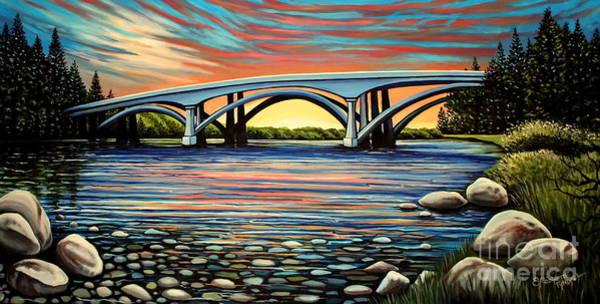 Folsom Bridge Poster