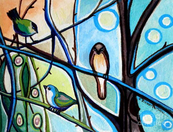 Three Birds Poster