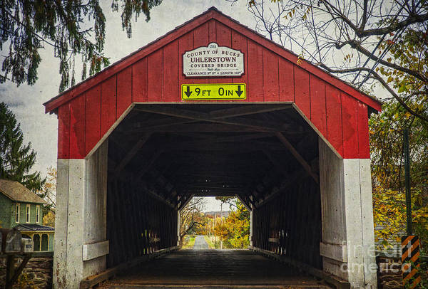 Uhlerstown Covered Bridge Iv Poster