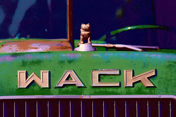 Wack Truck Poster