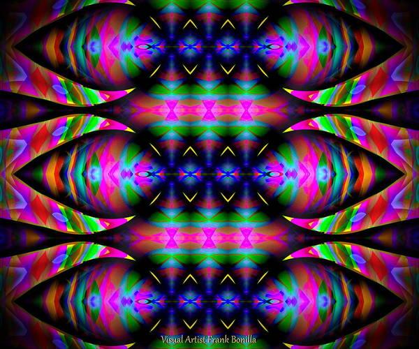 Poster featuring the digital art #0627201523 by Visual Artist Frank Bonilla