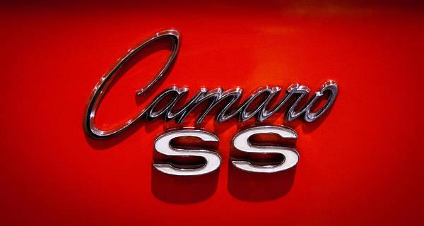 1969 Chevrolet Camaro 2-door Hardtop Poster