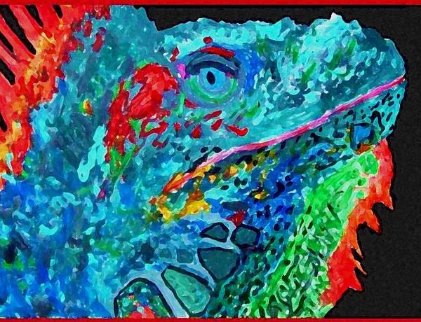 Arch's Iguanas Poster
