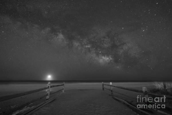 Avalon New Jersey Milky Way Rising  Poster