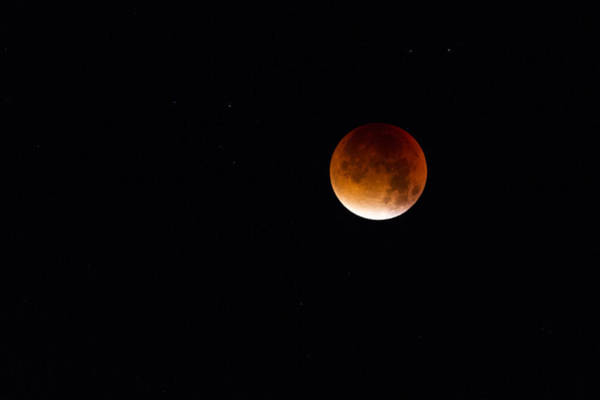 Blood Moon Super Moon 2015 Poster