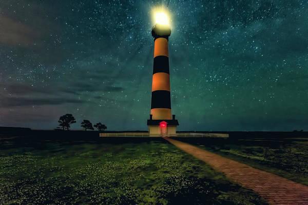 Bodie Island Night Poster