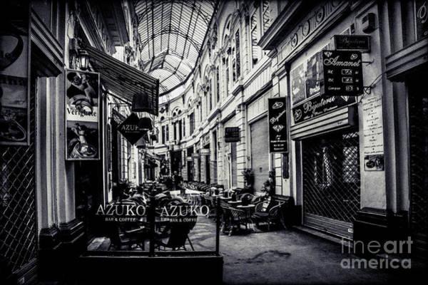 Monochrome Bucharest  Macca - Vilacrosse Passage Poster