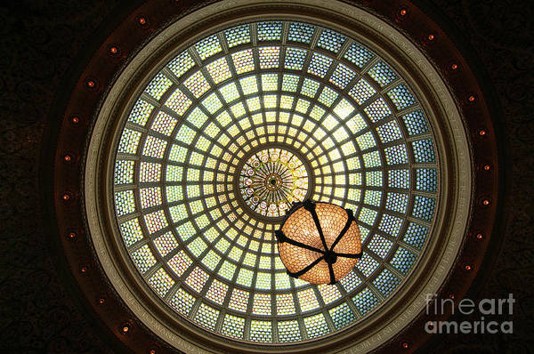 Chicago Cultural Center Dome Poster