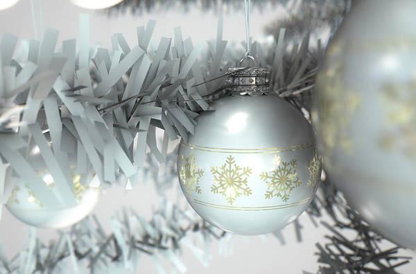 Christmas Decor White Poster