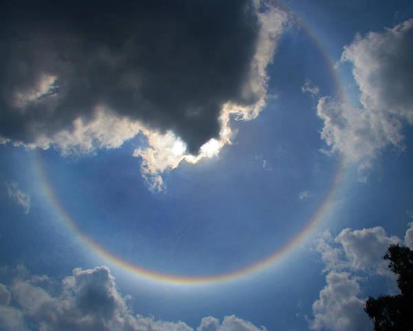 Circular Rainbow Poster