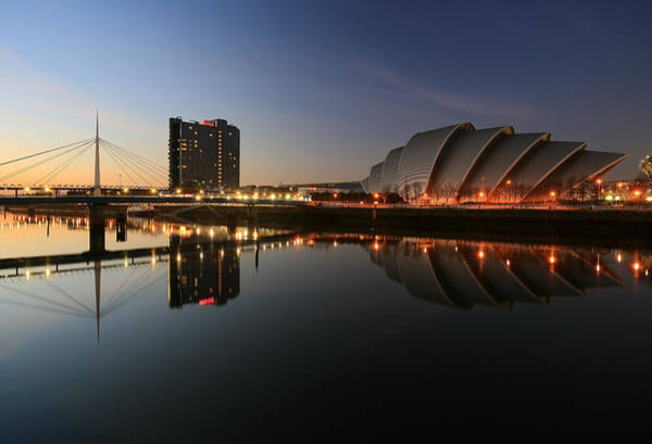 Clydeside Reflections  Poster