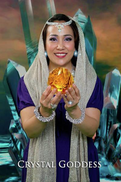 Crystal Goddess Poster