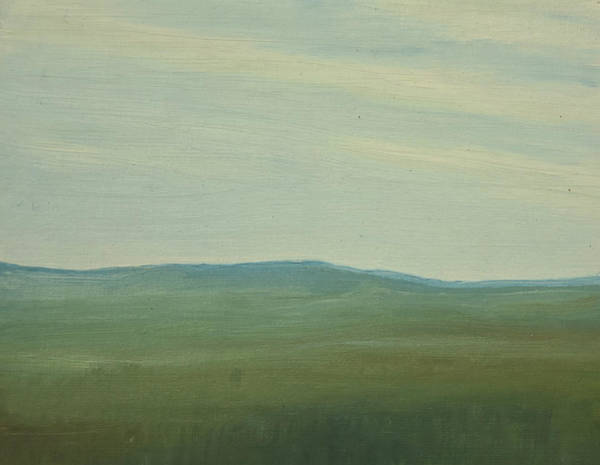 Dagrar Over Salenfjallen- Shifting Daylight Over Distant Horizon 5 Of 10_0029 91x61 Cm Poster