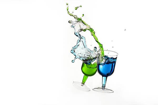 Dancing Drinks Poster