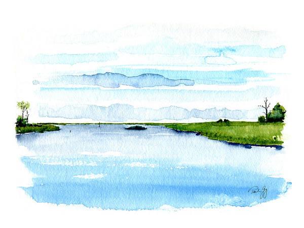 Davis Bayou Ocean Springs Mississippi Poster