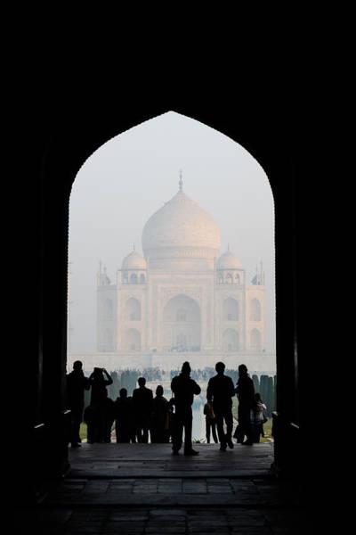 Entrance To The Taj Mahal Poster