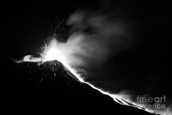 Etna, The Volcano Poster