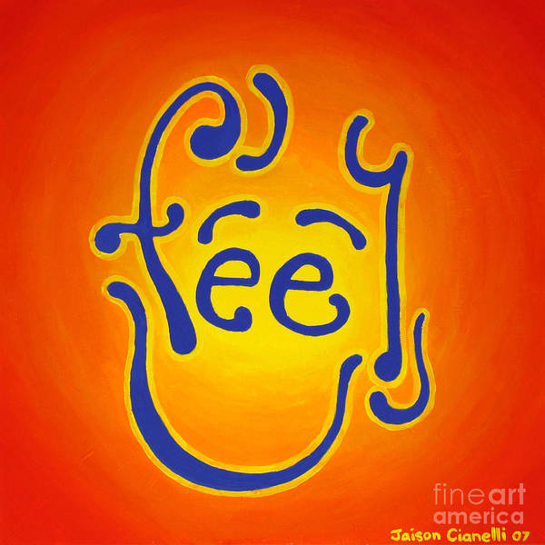 Feel Joy Poster
