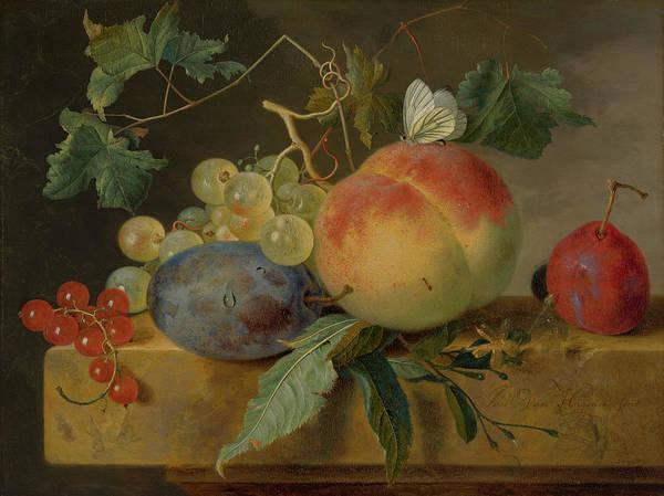 Fruit Still Life Poster
