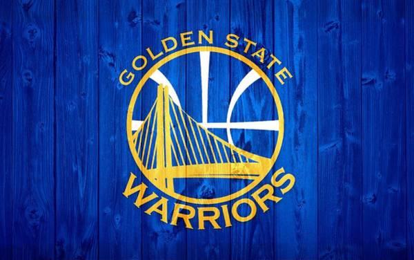 Golden State Warriors Door Poster