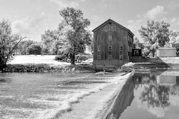Poster featuring the photograph Grist Mill by Andrea Platt