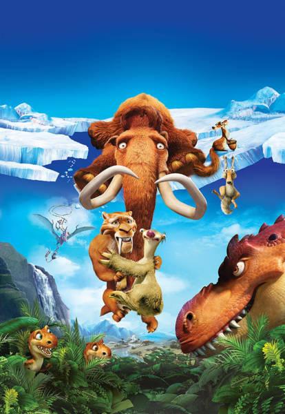 Ice Age Dawn Of The Dinosaurs 2009  Poster
