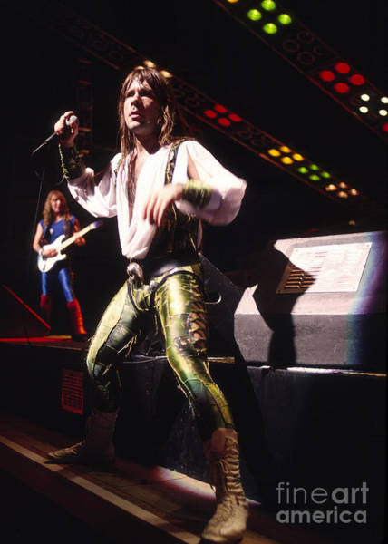 Iron Maiden 1987 Bruce Dickinson Poster