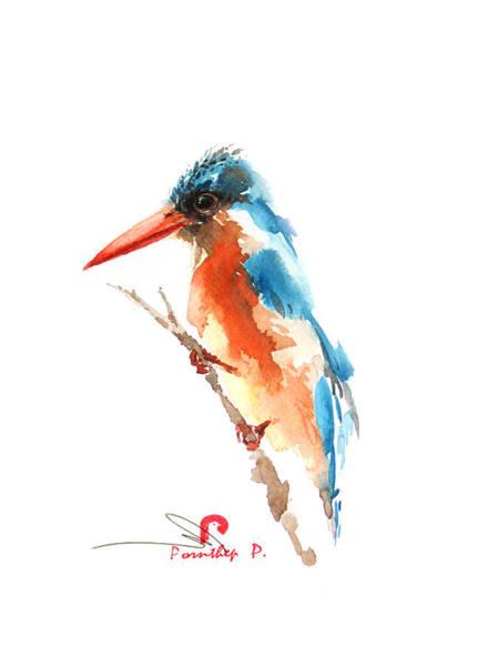 Kingfisher Bird Poster