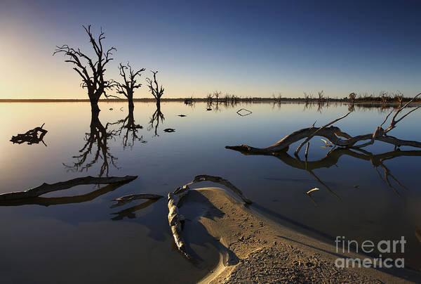 Lake Bonney Barmera Riverland South Australia Poster