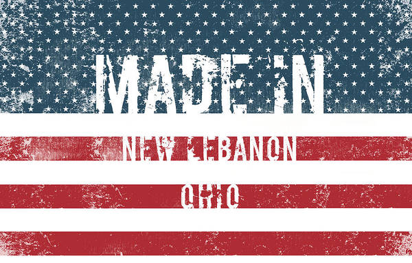 Made In New Lebanon, Ohio Poster