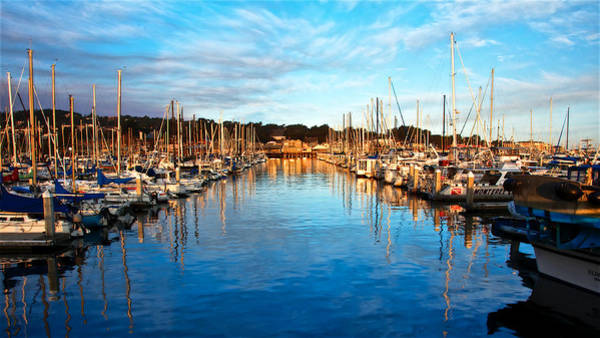 Monterey Marina, California Poster