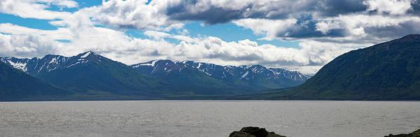 Panorama Of Beluga Point Poster