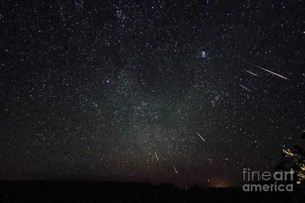 Perseid Meteor Shower Poster