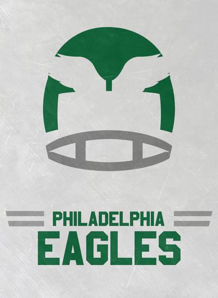 Philadelphia Eagles Vintage Art Poster