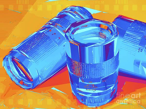 Pop Art Camera Lenses Poster