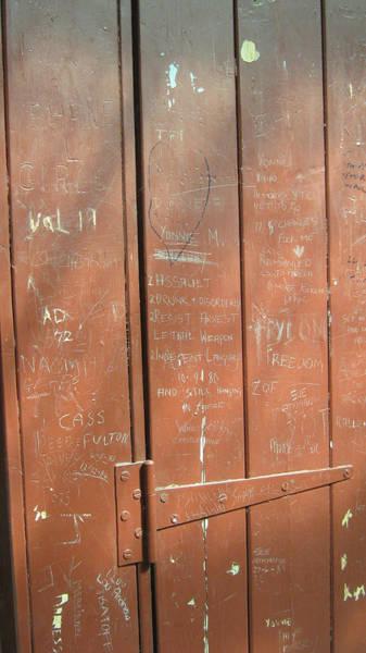 Prison Graffiti Poster