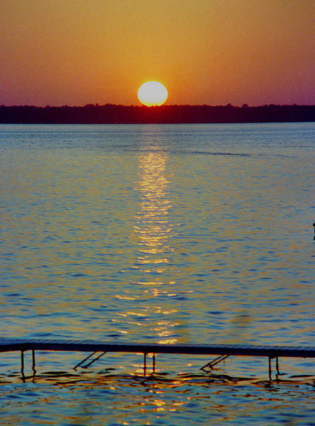Quite Pier Sunset Poster