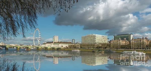 River Thames London Poster
