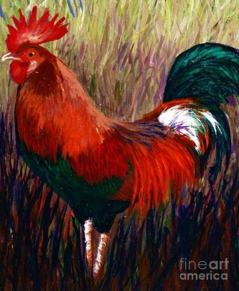 Rudy The Rooster Poster