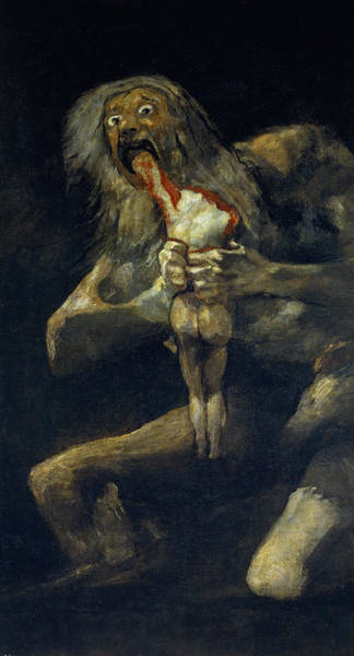 Saturn Devouring His Son Poster