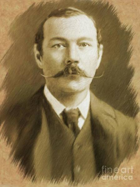 Sir Arthur Conan Doyle Poster