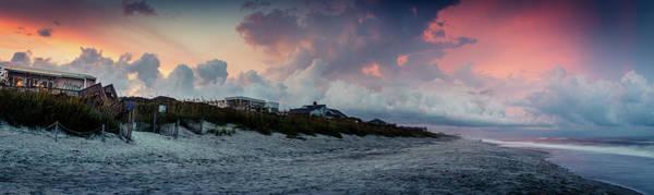 Sunset Emerald Isle Crystal Coast Poster