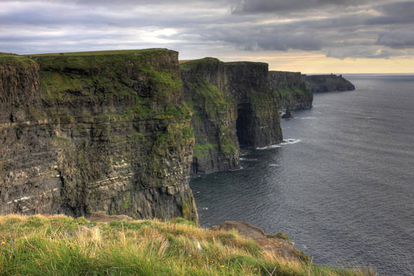 The Mighty Cliffs Of Moher In Ireland Poster