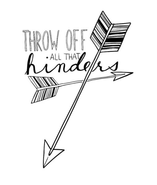 Throw Off All That Hinders Poster